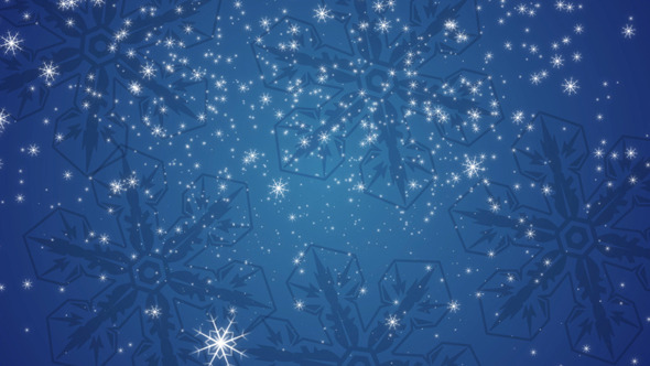 Snowflake 11 VideoHive Motion Graphic Backgrounds  Events 3404055