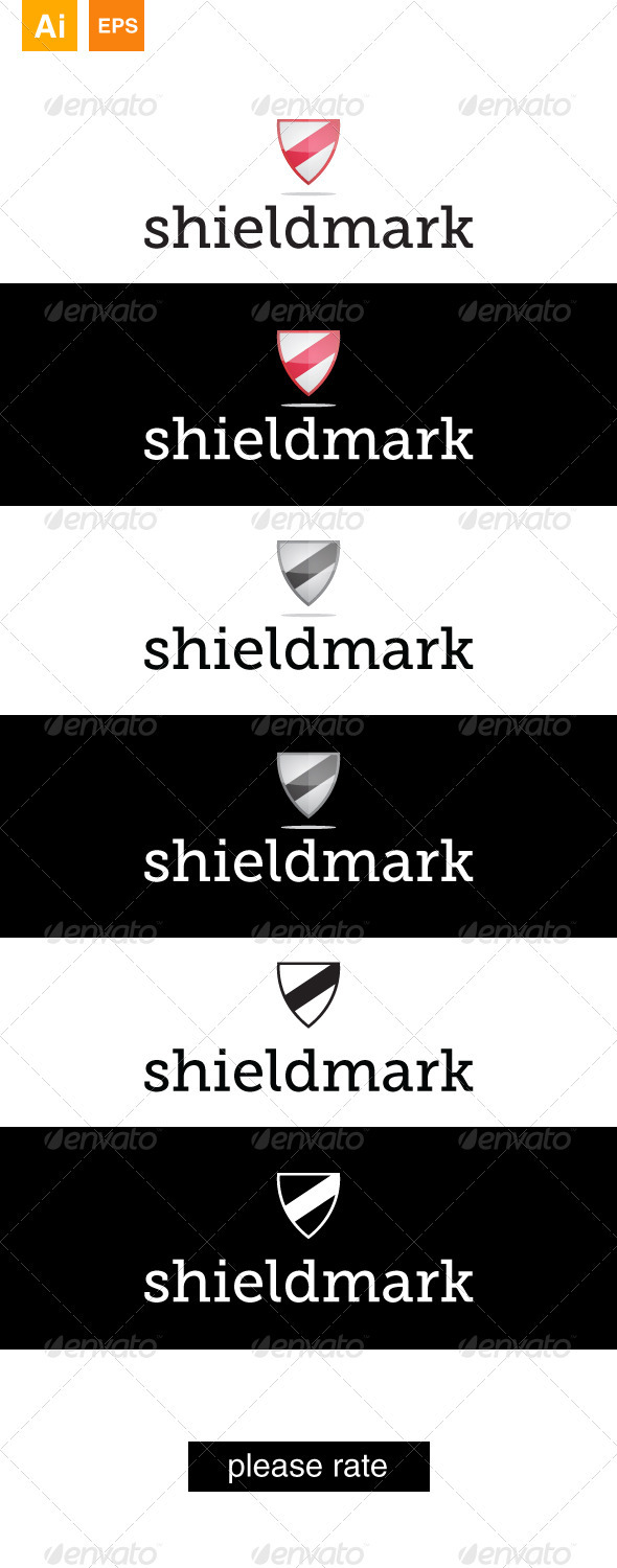 GraphicRiver Shieldmark Logo 3405028