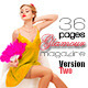 36 Pages Glamour Magazine Version Two - GraphicRiver Item for Sale