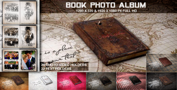 VideoHive Book Photo Album 3371645