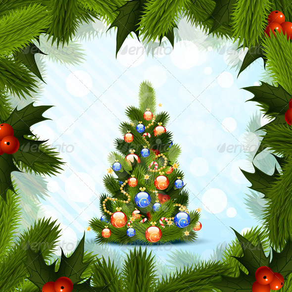 GraphicRiver Christmas Tree 3407766