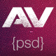 AV Creative PSD - ThemeForest Item for Sale
