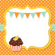 Birthday Card with a Cupcake - GraphicRiver Item for Sale
