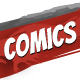 Comics Landing Page - ThemeForest Item for Sale