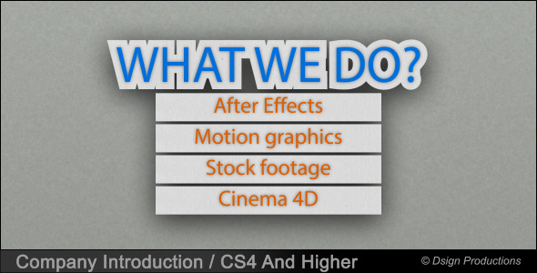 VideoHive Company Introduction 3408542