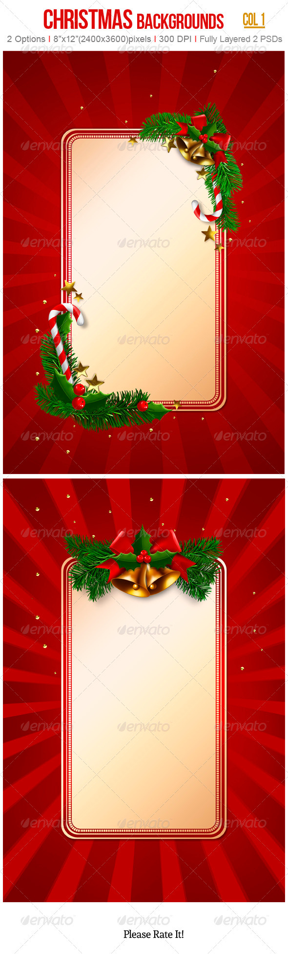 GraphicRiver Christmas Backgrounds 3409091
