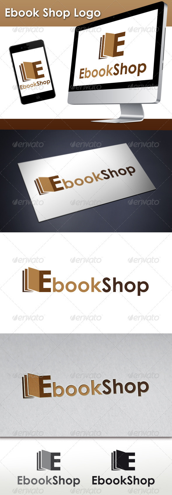 GraphicRiver Ebook Shop Logo 3409332
