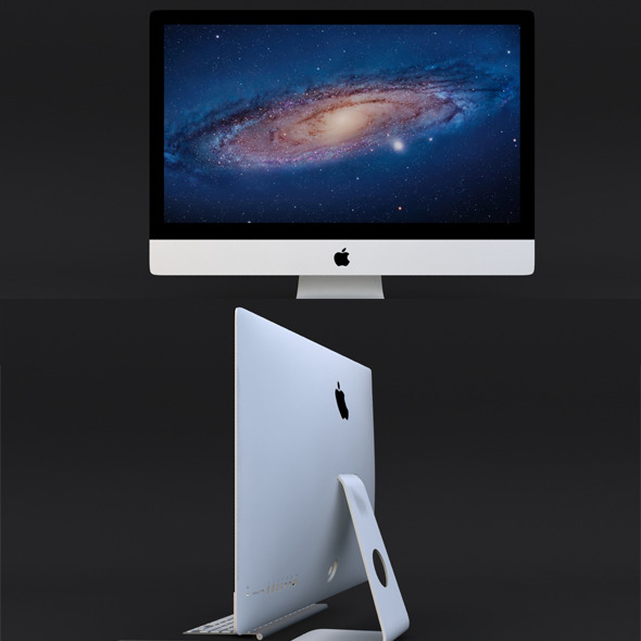 Apple iMac 2012 - 3DOcean Item for Sale