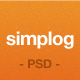Simplog - A Blog / News .PSD theme - ThemeForest Item for Sale