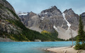 Moraine Lake In Banff National Park - PhotoDune Item for Sale