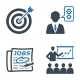 Employment and Business Icons - Blue Series  - GraphicRiver Item for Sale