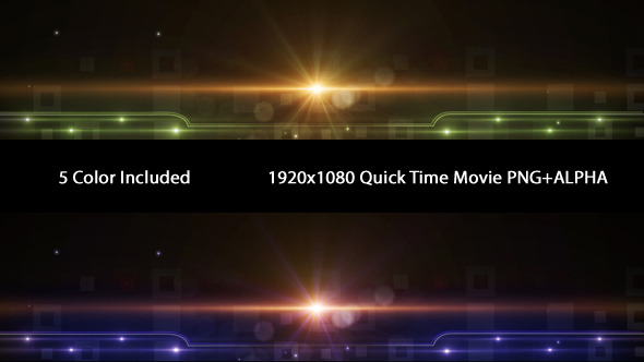 VideoHive Elegant Lower Third 5 Color 3411517