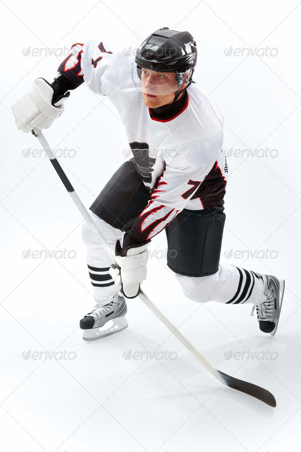Stock Photo - PhotoDune Playing ice hockey 367937
