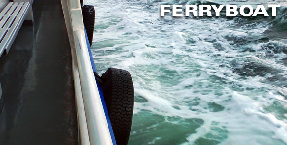 VideoHive Inside The Ferryboat 3414891