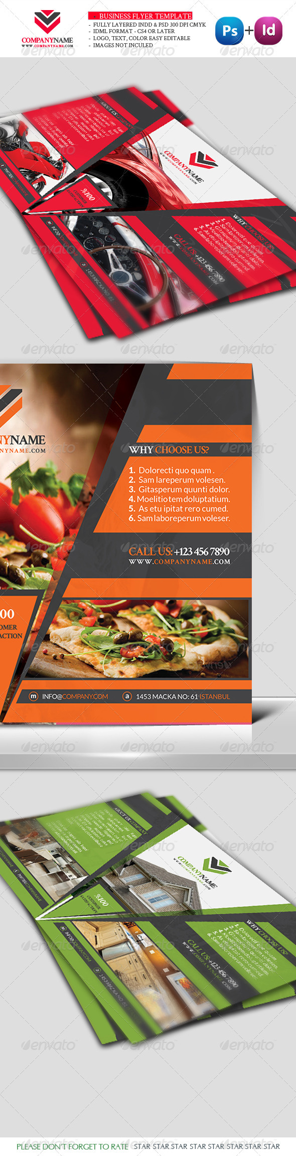 GraphicRiver Business Flyer Template Vol6 3316930