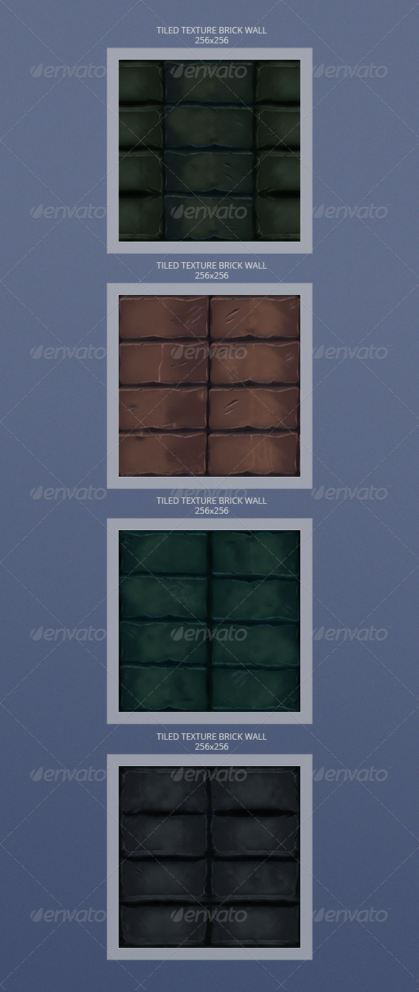 3DOcean Brick texture pack 3416950