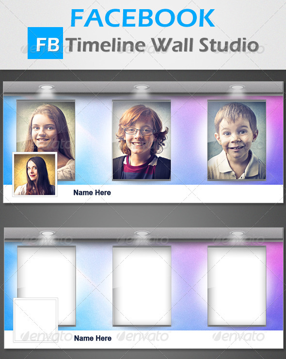 GraphicRiver FB Timeline Wall Studio 3417974