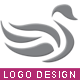 Swan Style Logo Template - GraphicRiver Item for Sale