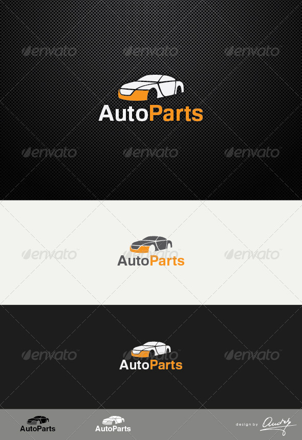 GraphicRiver Auto Parts logo template 3418730