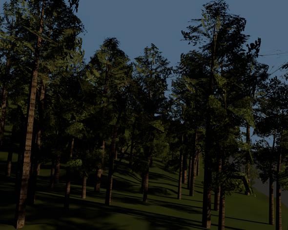 3DOcean Low Poly Tree Pack 3419127
