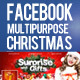 Multipurpose Facebook Timeline Covers Christmas - GraphicRiver Item for Sale