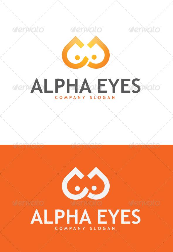 GraphicRiver AlphaEyes Logo 3420580