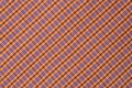 Orange Purple fabric tartan textured cross - PhotoDune Item for Sale
