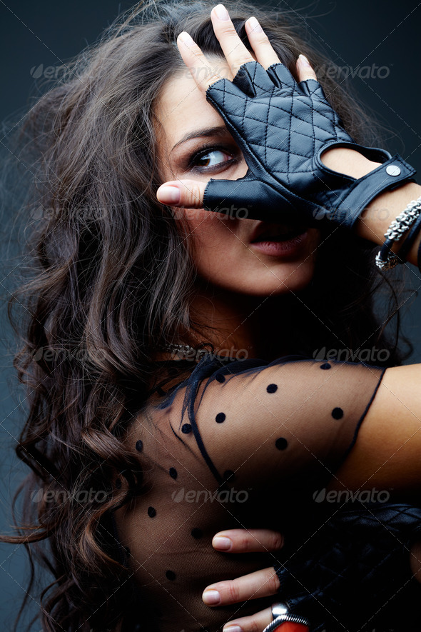Stock Photo - PhotoDune Rocker's girlfriend 368902