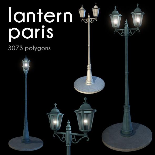 3DOcean Lantern Paris 3421676