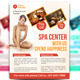 Spa Center Flyer - GraphicRiver Item for Sale