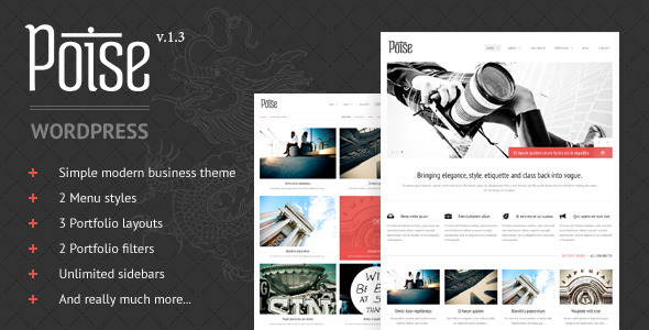 ThemeForest Poise Wordpress 2074449