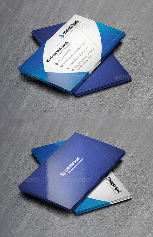 GraphicRiver Corporate Business Card 16 3399077