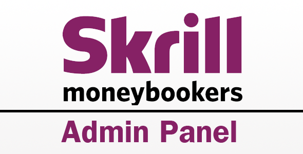 CodeCanyon Skrill Admin Panel History Refunds Recurring 3422481