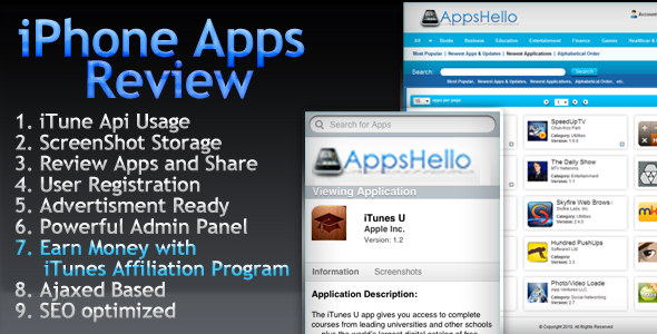 Appstore iPhone-iPad Apps Review  - CodeCanyon Item for Sale