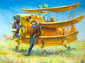 Pilot and his Plane - PhotoDune Item for Sale