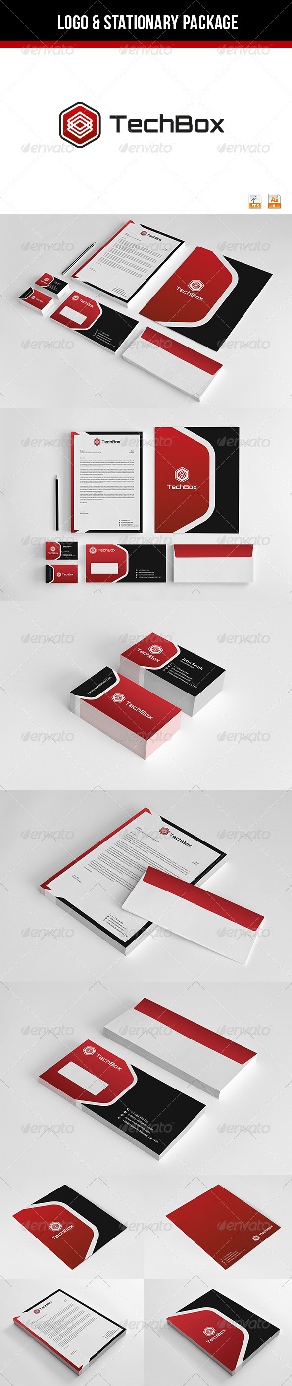 GraphicRiver TechBox Corporate Identity 3423732
