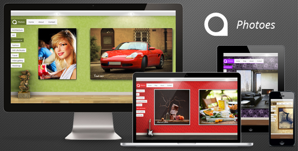 ThemeForest Photoes HTML 3423910