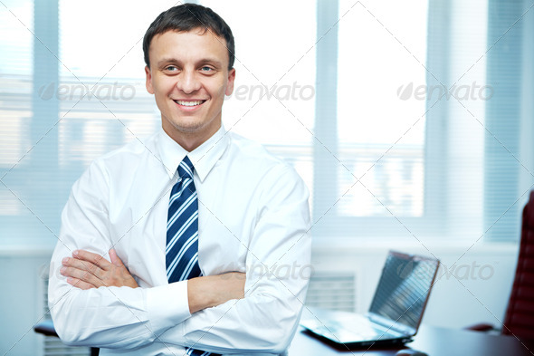 Conscientious manager - Stock Photo - Images