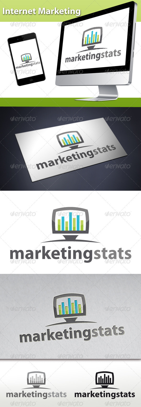 GraphicRiver Internet Marketing Logo 3425377