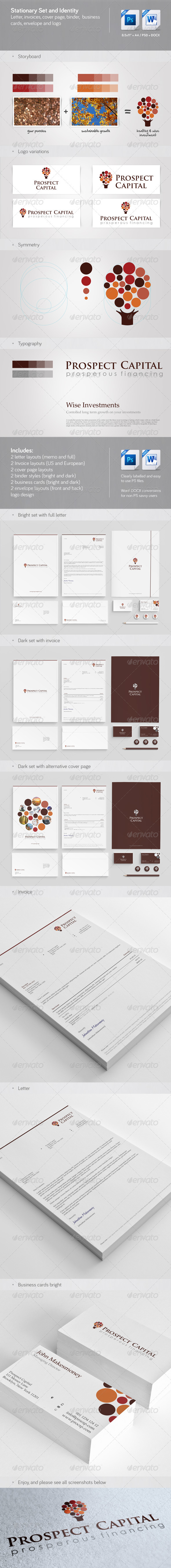 Corporate Stationary, Invoice and Identity - Stationery Print Templates