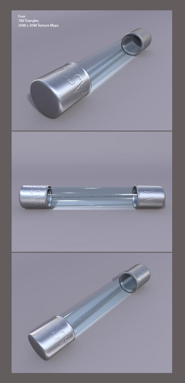 3DOcean Render ready 3D Fuse 3419482