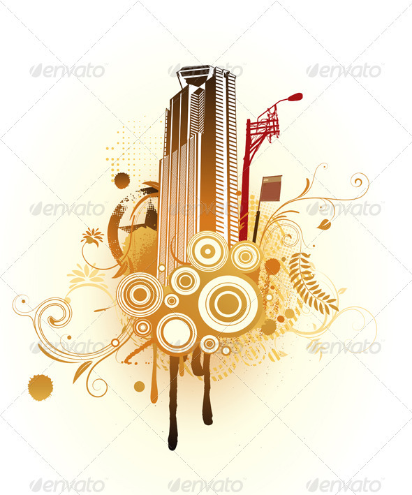 GraphicRiver Urban Composition 3427484