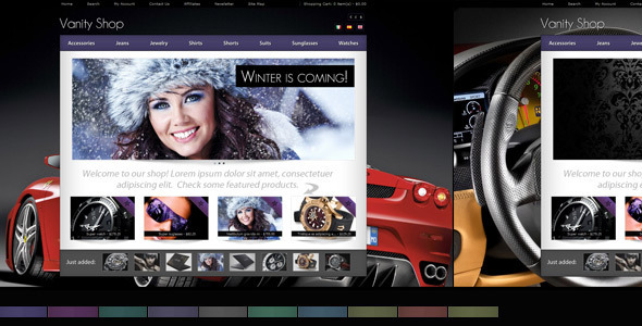 ThemeForest Vanity Shop 504477
