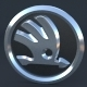 Skoda Logo (2011) - 3DOcean Item for Sale