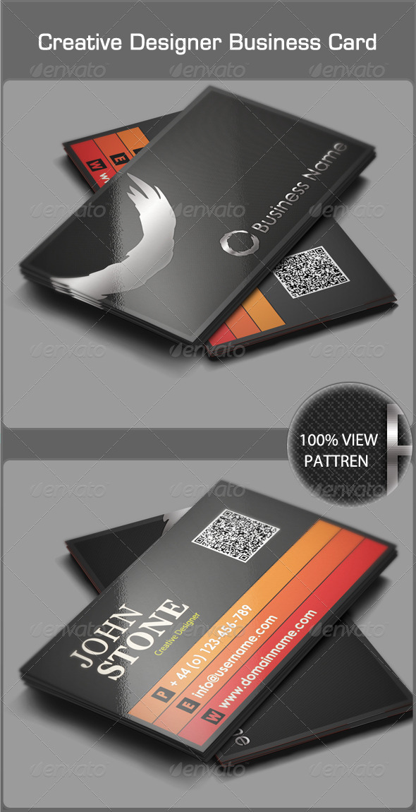 GraphicRiver Creative Designer Business Card 3431073