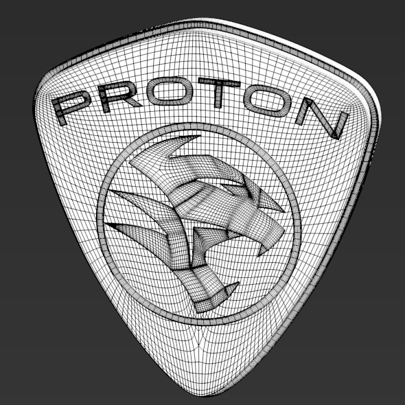 3DOcean Proton Logo 3431783