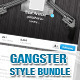Gangster Style Bundle  - GraphicRiver Item for Sale