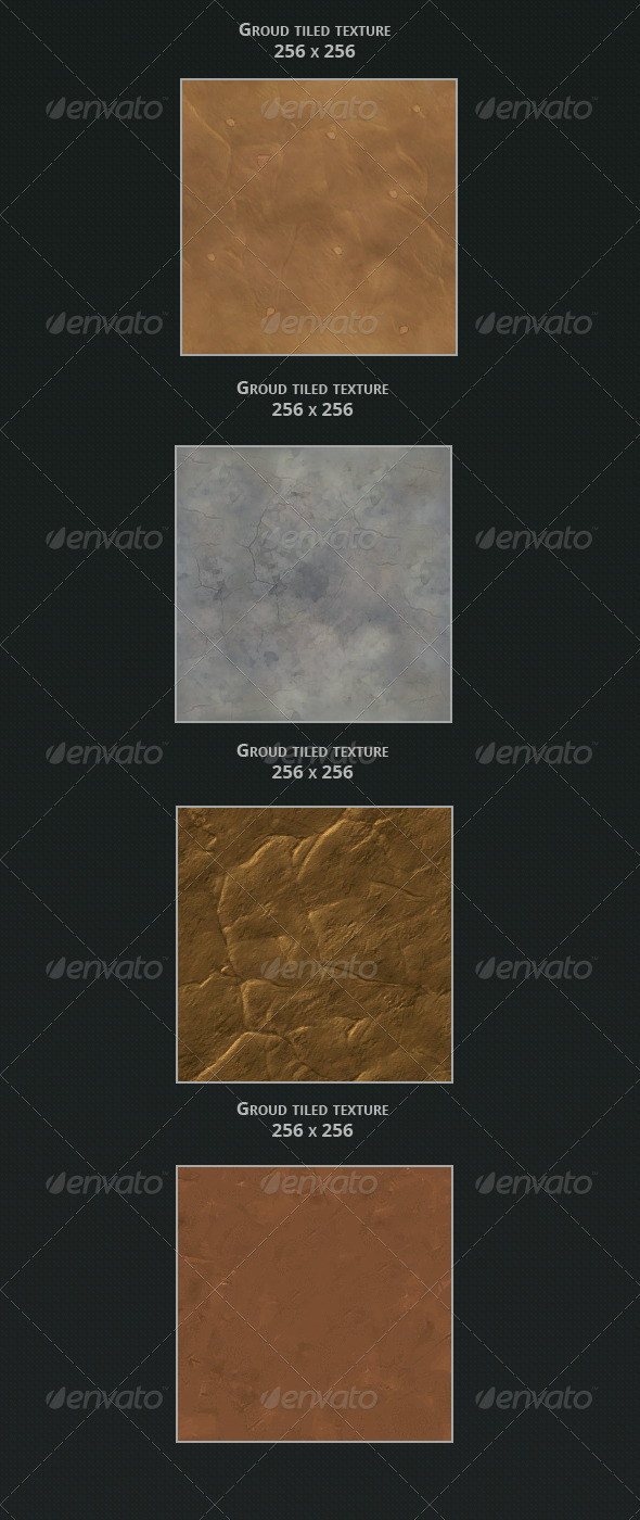3DOcean Hand Painted Ground textures 3434702