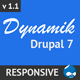 Dynamik - Responsive Drupal 7 Theme - ThemeForest Item for Sale