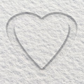 Heart in Snow - PhotoDune Item for Sale